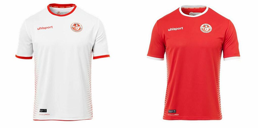 Camisas da Tunisia 2018 Uhlsport Copa do Mundo