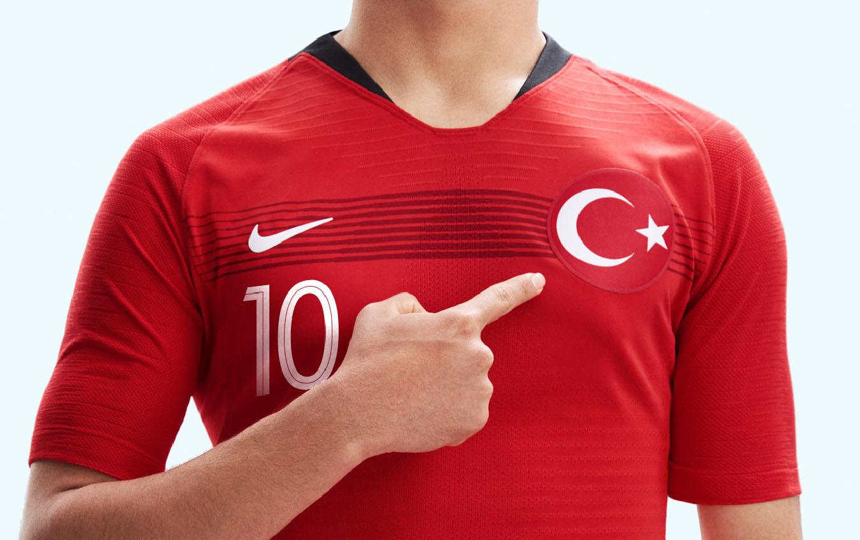 T medias Mezclado  Novas camisas da Turquia 2018-2019 Nike | Mantos do Futebol
