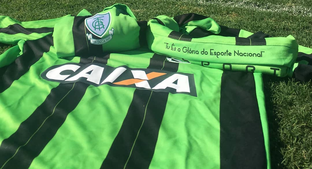 Camisas do América-MG 2018-2019 Lupo