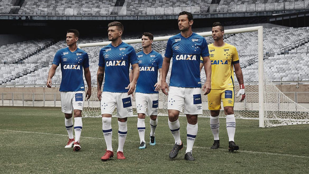 Camisas do Cruzeiro 2018-2019 Umbro abre