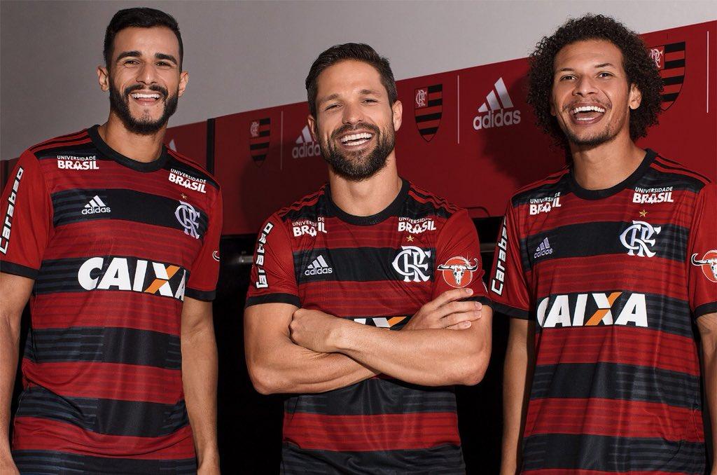 Camisas do Flamengo 2018-2019 Adidas