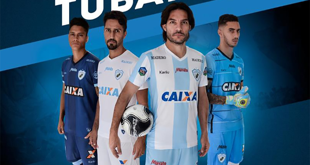 Camisas do Londrina 2018-2019 Karilu abre