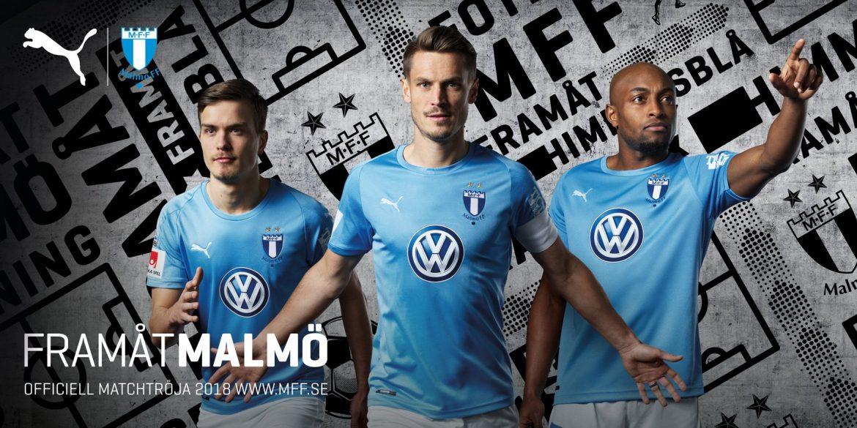 Camisas do Malmo FF 2018-2019 Puma