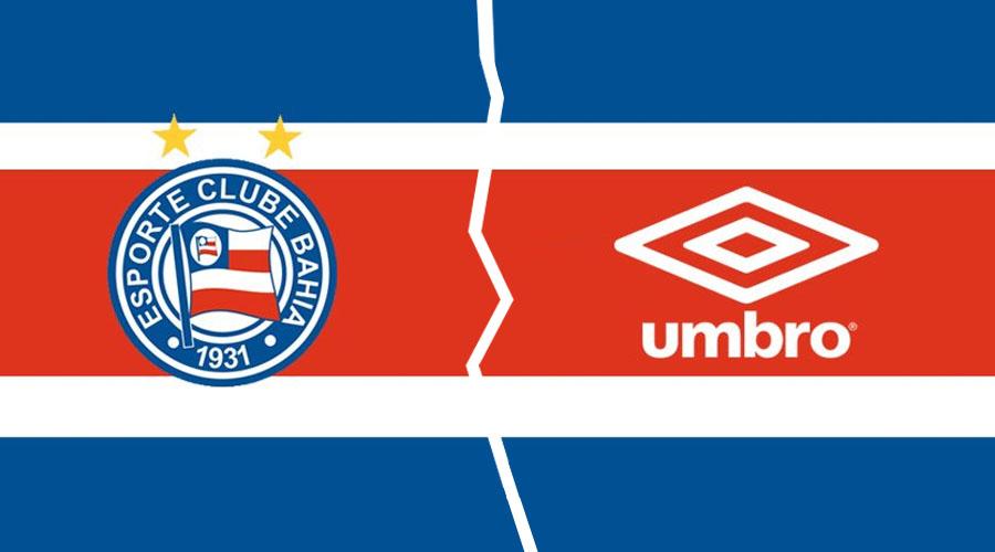 EC Bahia rescinde com a Umbro