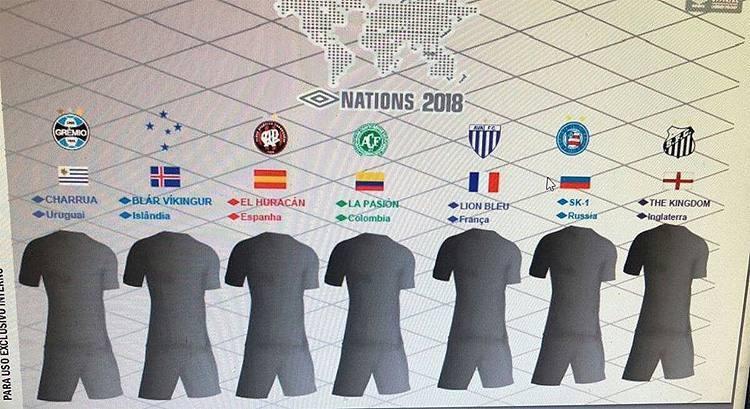 Nations 2018 Umbro