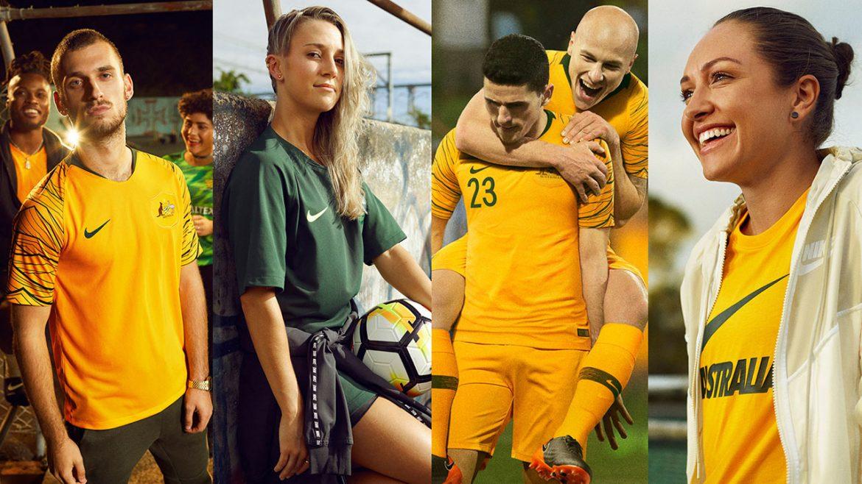 Camisas da Austrália 2018 Nike | Copa do Mundo