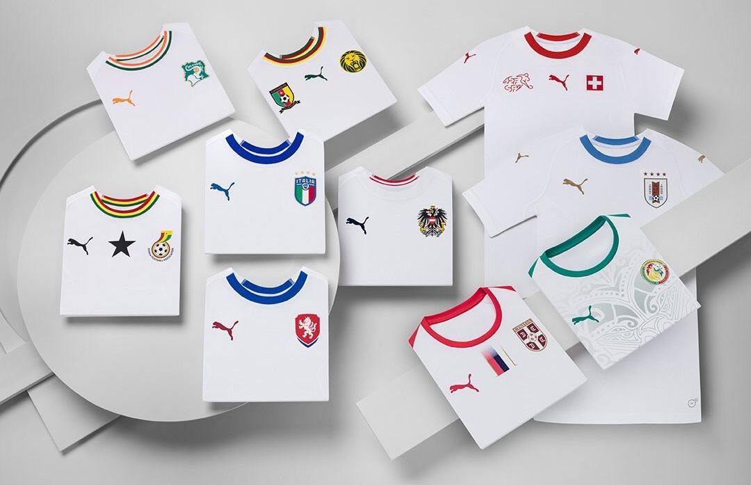 PUMA Away Kits 2018-2019