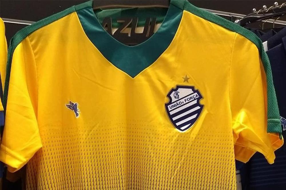 Camisa CSA 2018 Seleção Brasileira abre