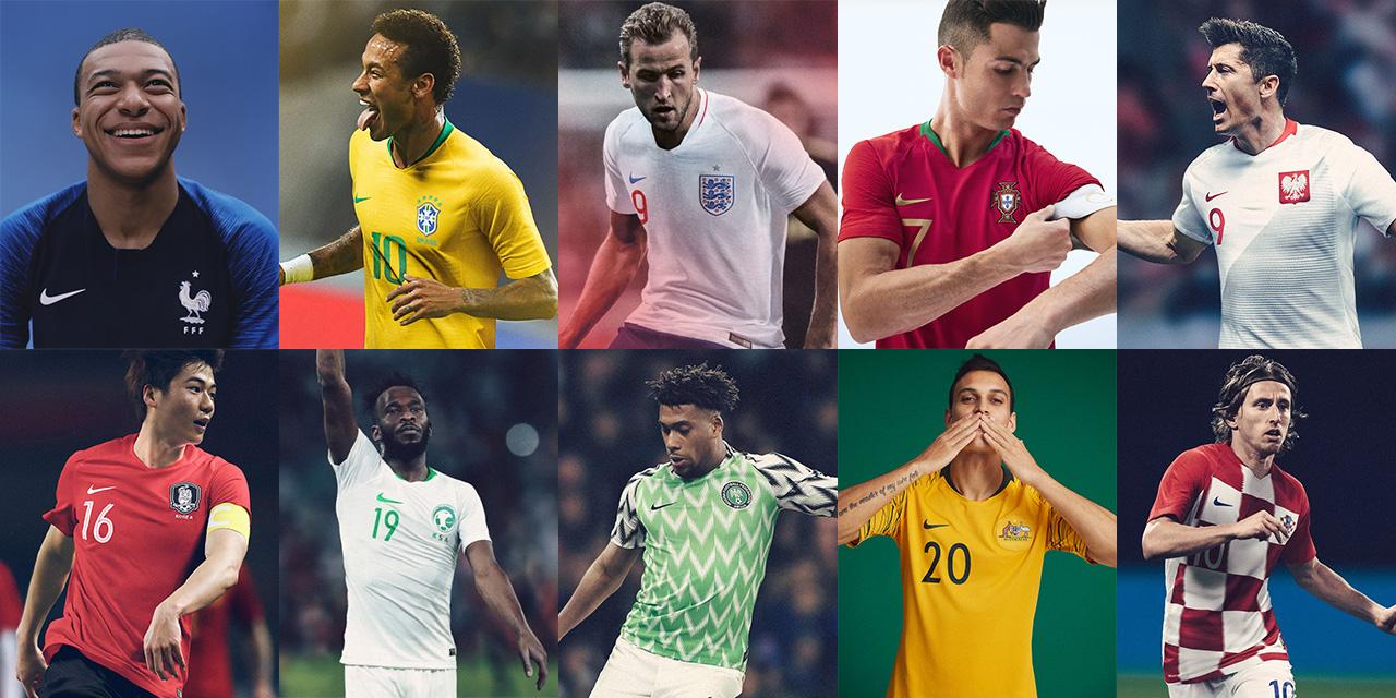 Específico pobre tinción  Camisas da Nike para a Copa do Mundo 2018 » Mantos do Futebol