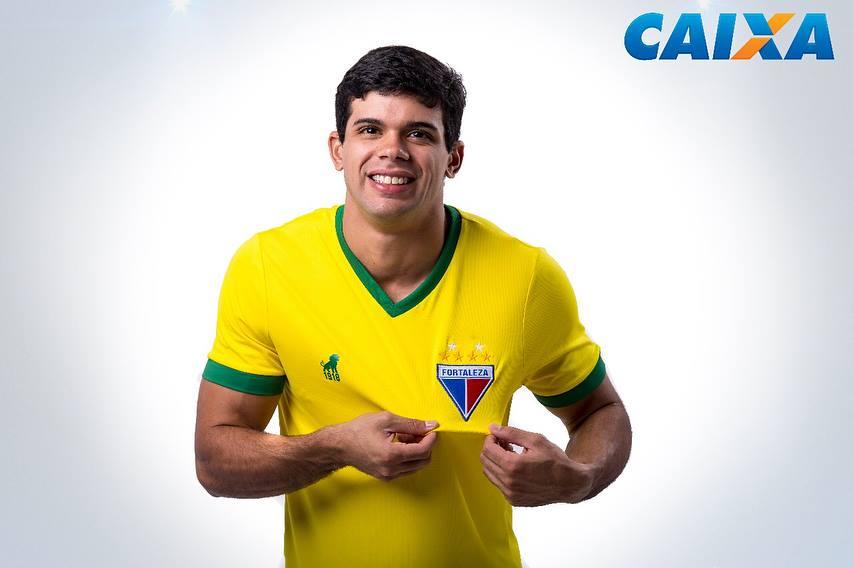 Camisa do Fortaleza Seleção Brasileira Copa 2018 Leão1918