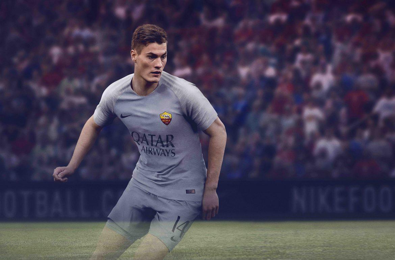 Camisas da Roma 2018-2019 Nike