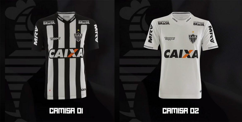 Camisas do Atlético-MG 2018-2019 Topper