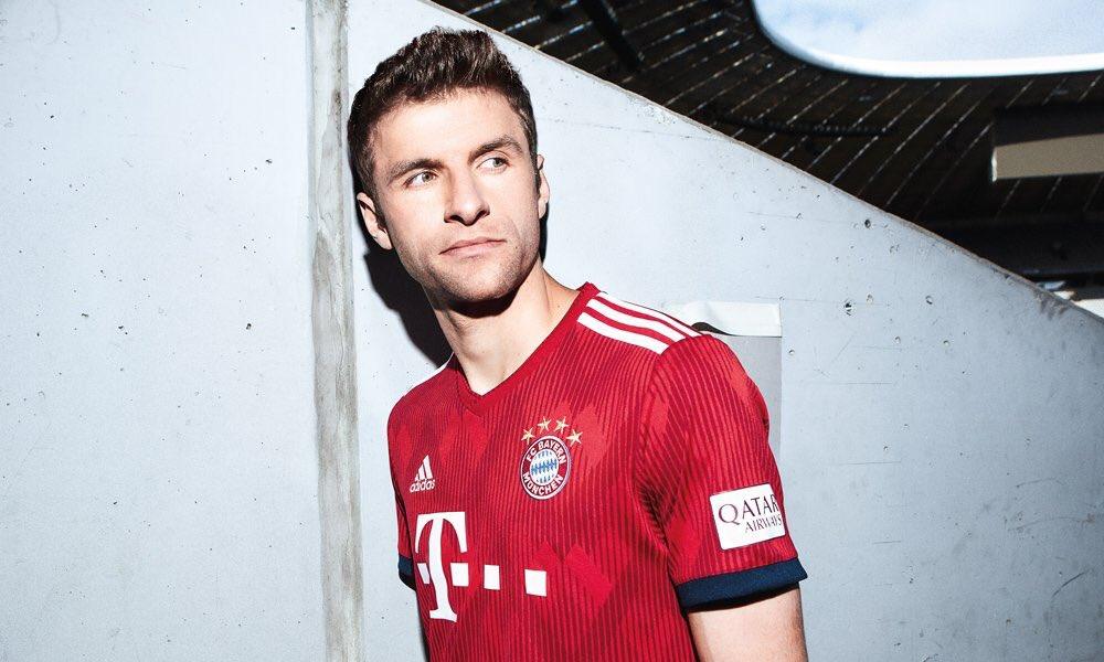 Camisas do Bayern de Munique 2018-2019 Adidas