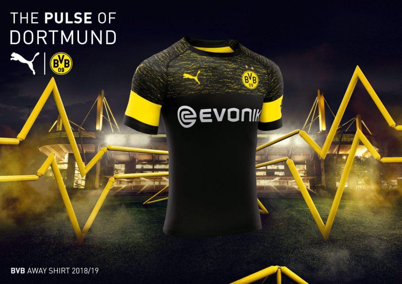 Camisas do Borussia Dortmund 2018-2019 PUMA Reserva