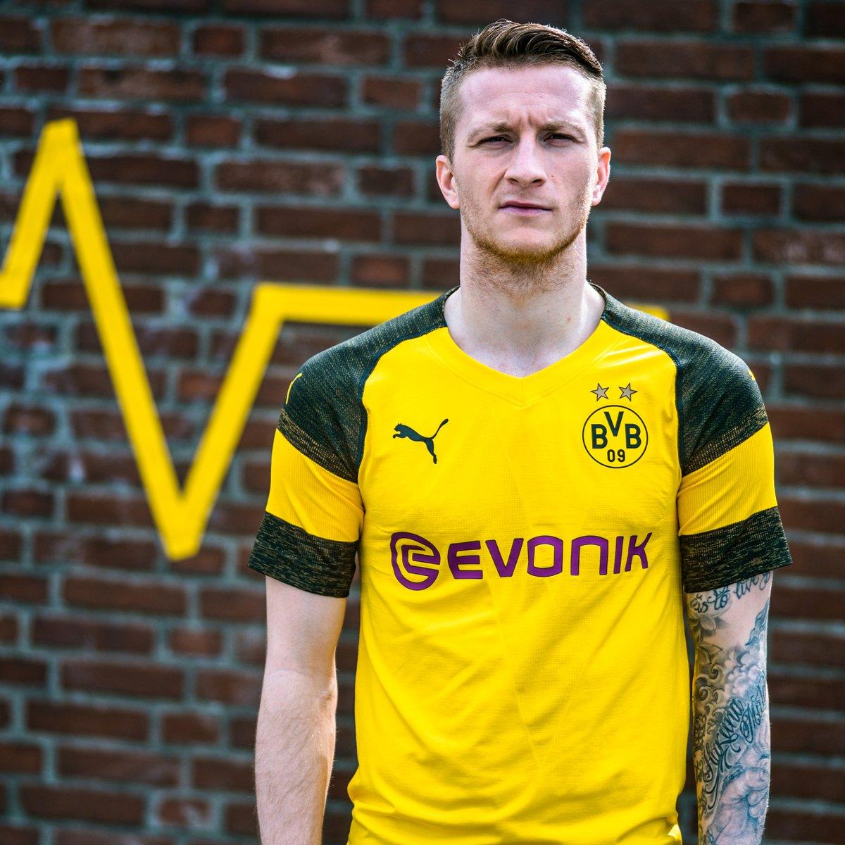 Camisas do Borussia Dortmund 2018-2019 PUMA
