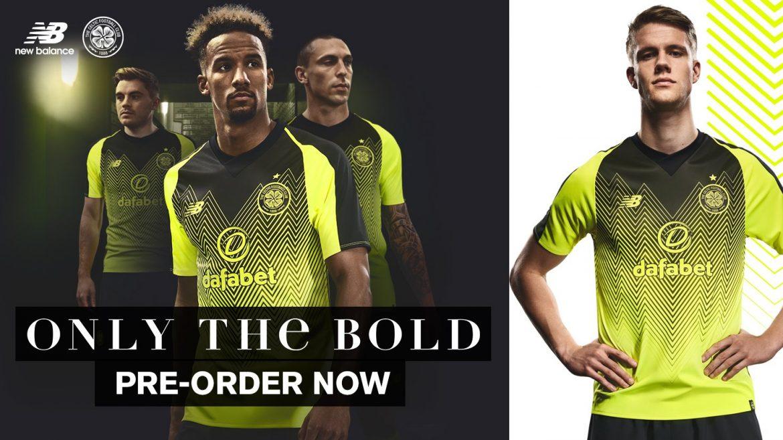Camisas do Celtic 2018-2019 New Balance Terceira abre