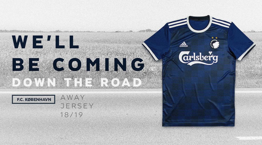 Camisas do Copenhagen 2018-2019 Adidas Reserva abre