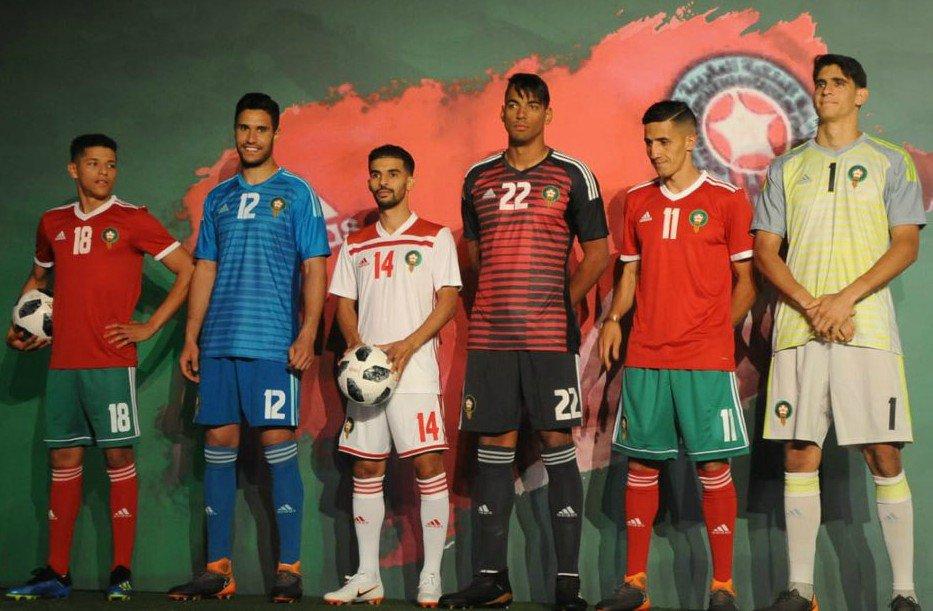 Camisas do Marrocos 2018-2019 Adidas