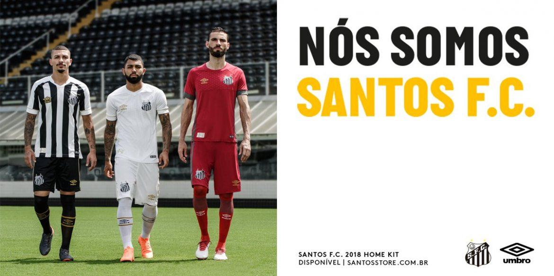 Camisas do Santos 2018-2019 Umbro
