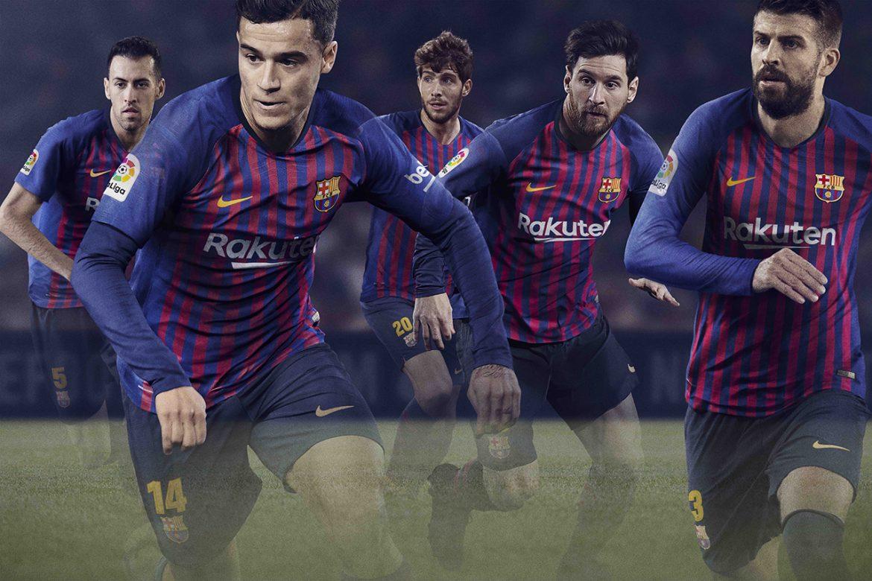 Camisas do Barcelona 2018-2019 Nike
