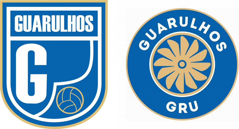 Evolução dos escudos do Guarulhos