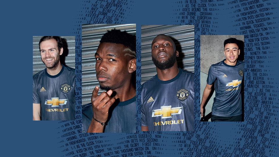 Nova Terceira Camisa Do Manchester United 2018-2019 Adidas