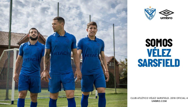 Quarta camisa do Vélez Sarsfield 2018 Umbro