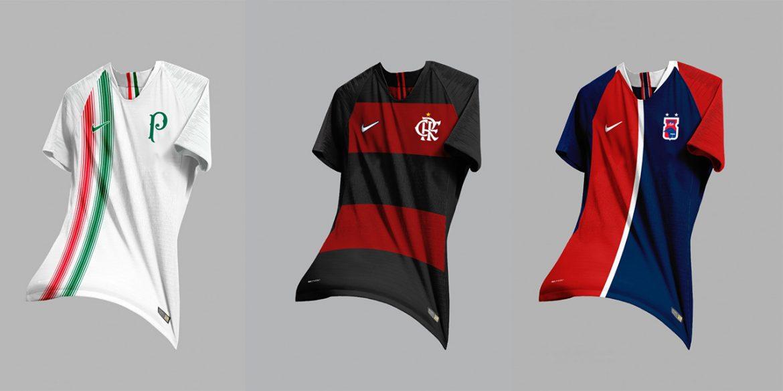 14 Clubes brasileiros vestindo Nike (Felipe Silva)