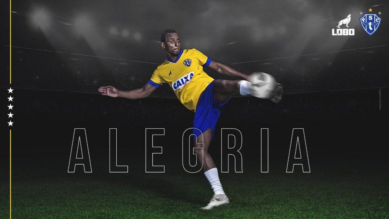 Alegria camisa amarela do Paysandu Seleção Brasileira abre