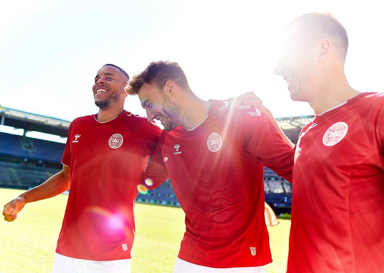 Camisas da Dinamarca 2018-2019 Hummel Copa do Mundo