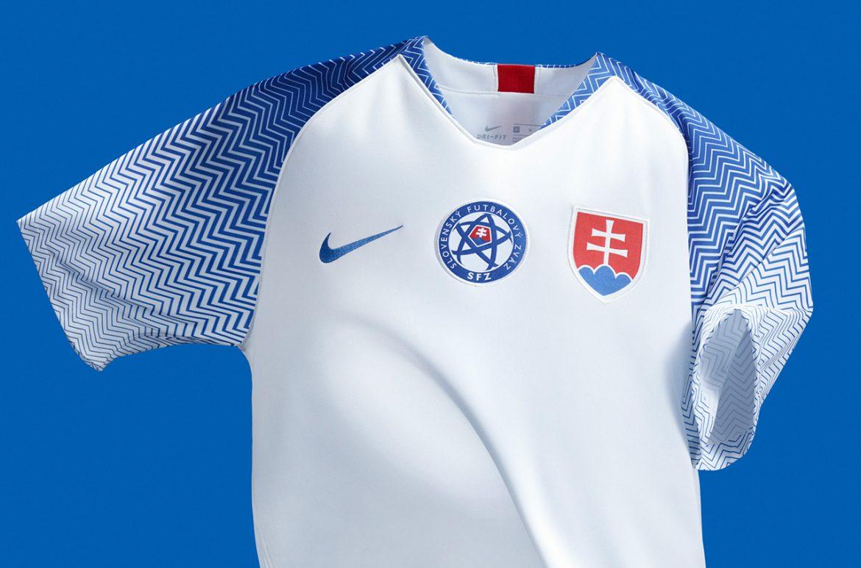 Camisas da Eslováquia 2018-2019 Nike