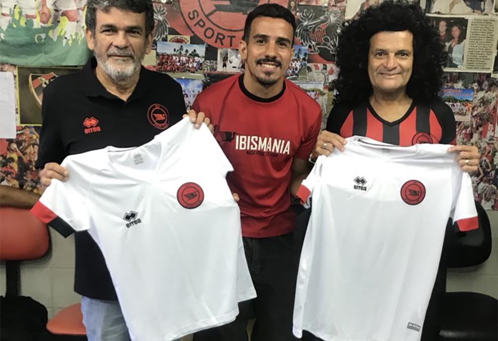 Camisas do Íbis 2018-2019 Erreà abre