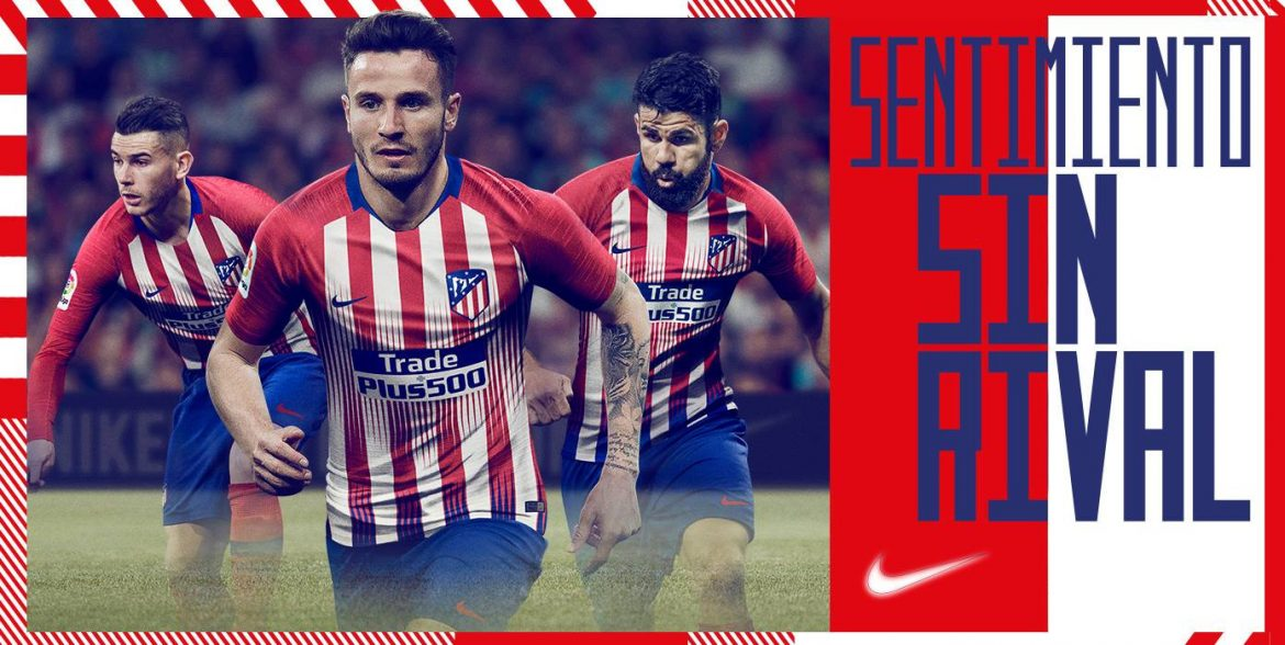 Camisas do Atletico de Madrid 2018-2019 Nike abre