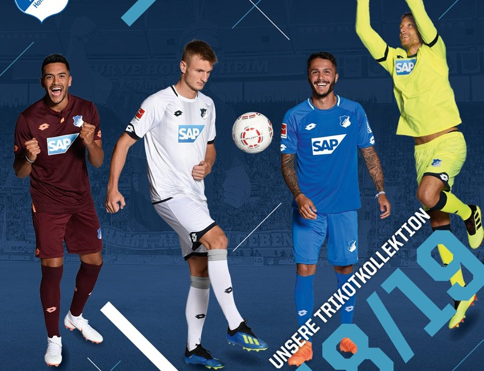 Camisas do Hoffenheim 2018-2019 Lotto