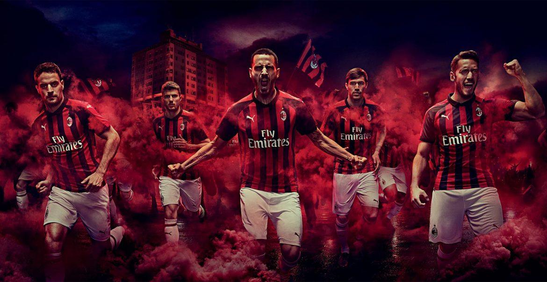 Camisas do Milan 2018-2019 PUMA