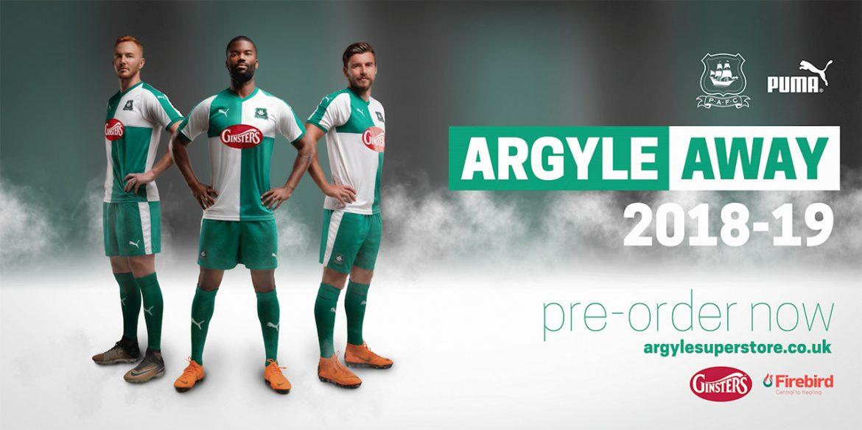 Camisas do Plymouoth Argyle 2018-2019 Puma Reserva