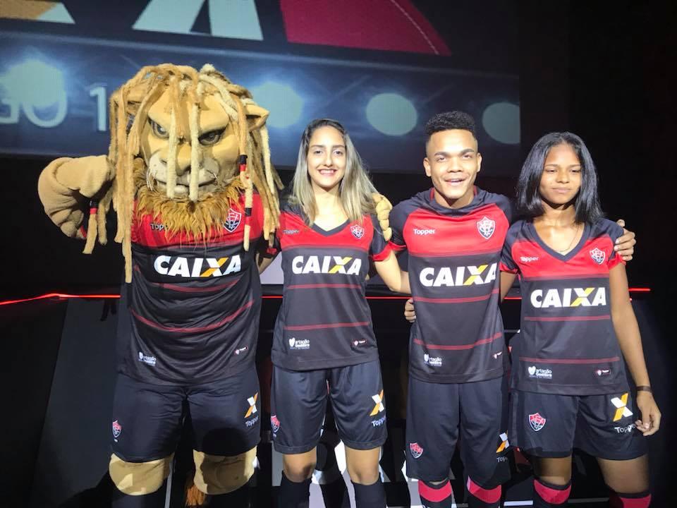 Camisas do Vitória 2018-2019 Topper Titular