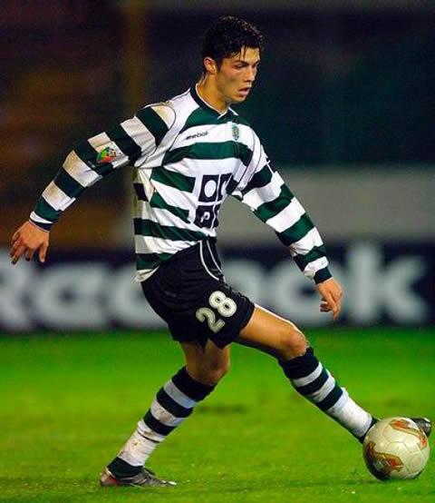 Cristiano Ronaldo camisa 28 Sporting