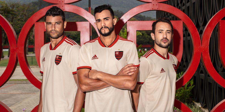 Camisa reserva do Flamengo 2018-2019 Adidas