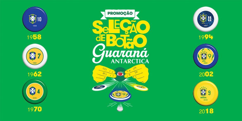 Guaraná Antarctica lança Seleções campeãs com futebol de botão
