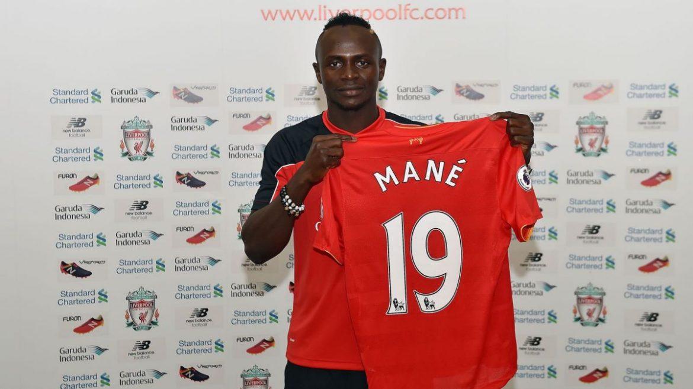 Sadio Mané Liverpool camisas
