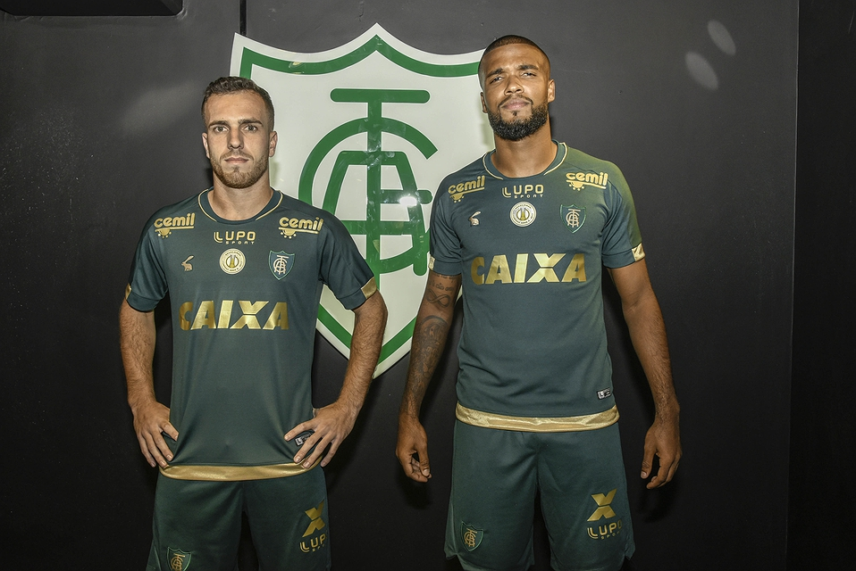 Terceira camisa do América-MG 2018-2019 Lupo Sport