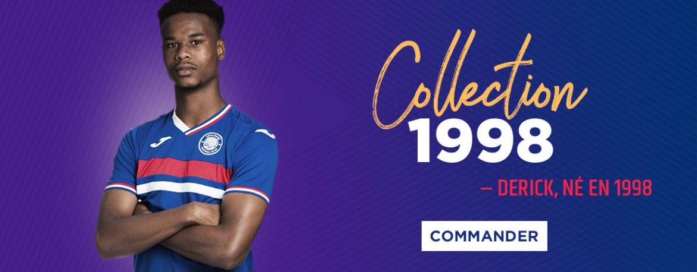 Toulouse lança camisa inspirada na Seleção Francesa de 1998