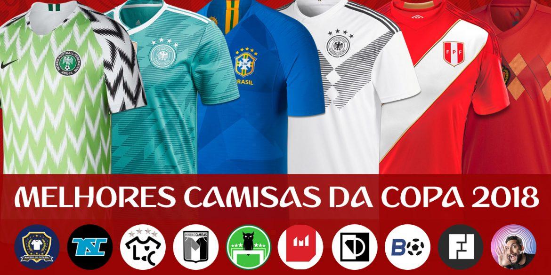 As Melhores camisas da Copa do Mundo 2018