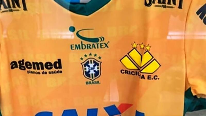 Camisa do Criciuma Copa do Mundo 2018