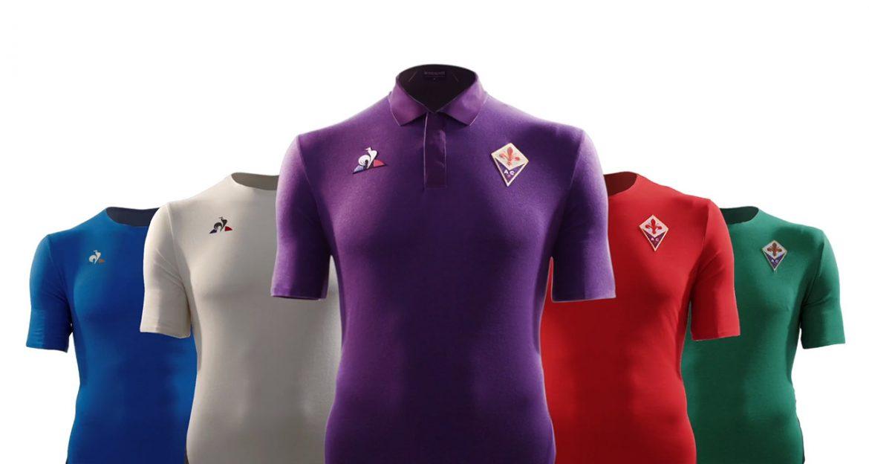 Camisas da Fiorentina 2018-2019 Le Coq Sportif