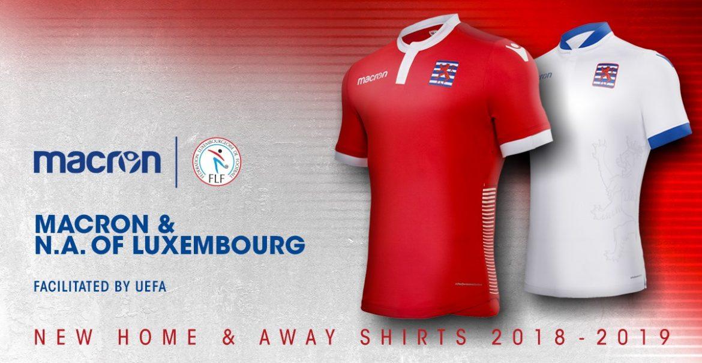 Camisas de Luxemburgo 2018-2019 Macron