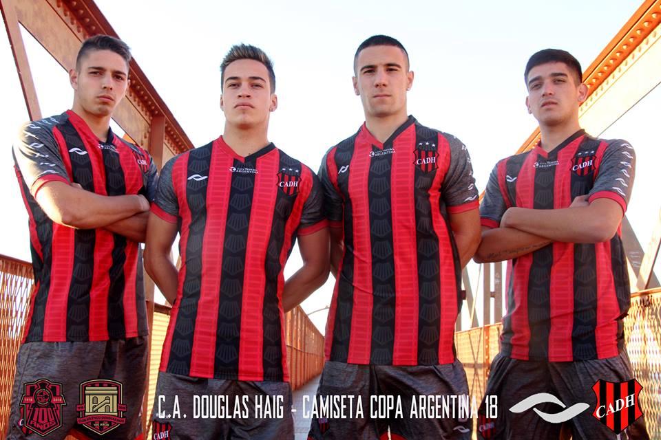 Camisas do CA Douglas Haig 2018-2019 Copa Argentina