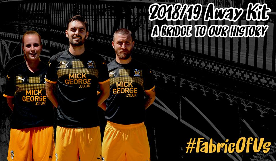 Camisas do Cambridge United 2018-2019 PUMA