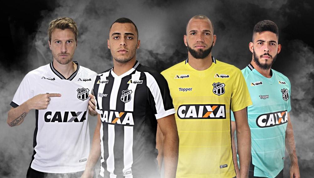 Camisas do Ceará 2018-2019 Topper abre